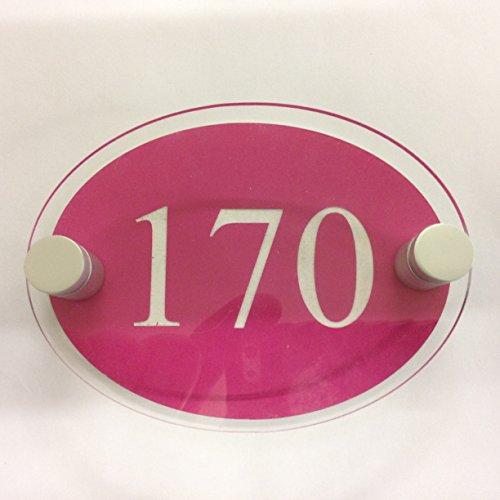 prestige-incisione-stand-off-ovale-house-targa-porta-numero-civico-moderno-nuovo-costruire-pink