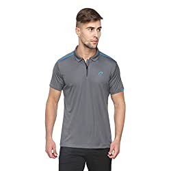 Proline Active Men's Synthetic Polo (8907007331293 _63001519004_X-Large_Dark Grey)