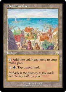 マジック:ザ・ギャザリング 【英語】 【メルカディアン・マスクス】 【Foil】 リシャーダの港/Rishadan Port