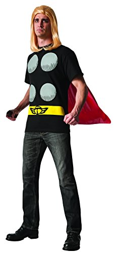 Rubie's Costume Men's Marvel Universe Thor Adult Costume T-Shirt and Cape