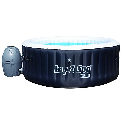 Bestway Miami Lay-Z Spa - Black