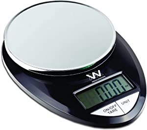 Weigh Masters ProChef Kitchen Scale (Black)