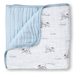 aden + anais Muslin Dream Blanket, Liam The Brave