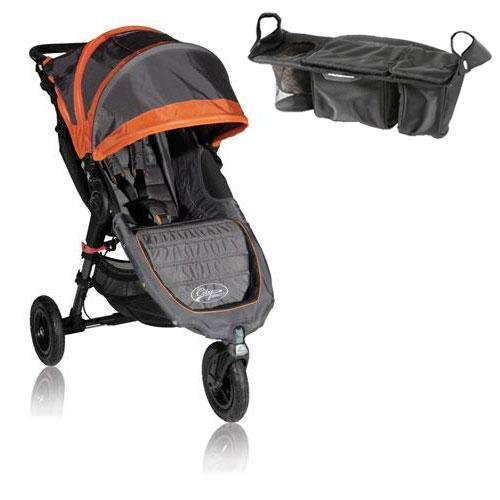 Baby Jogger Bj15239 City Mini Gt Single With Parent Console - Shadow Orange front-174480