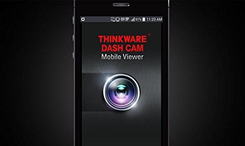 THINKWARE F770 2-Channel Dash Cam   Front and Rear   1080P HD Dash Cam with Sony Exmor Sensor + Built-in WiFi + Super Night Vision - 32GB SD Card   Hardwiring Kit Included