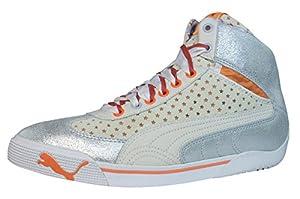 Puma Speed Cat 2.9 Stars Mid femmes Cuir chaussures / Chaussures - blanc - SIZE EU 37.5