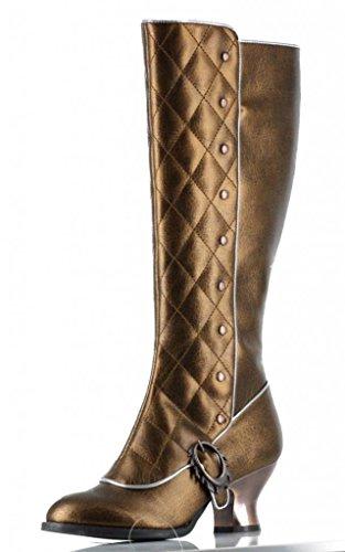Womens-Hades-Victoriana-Boot-Gold