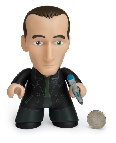 Doctor Who Titans 3 Inch Vinyl Figure, Series 3 50Th Anniversary, 9Th Doctor Green Shirt Variant