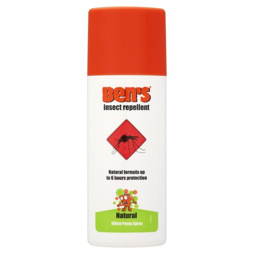 Bens Natural Insect Repellent Spray 100Ml