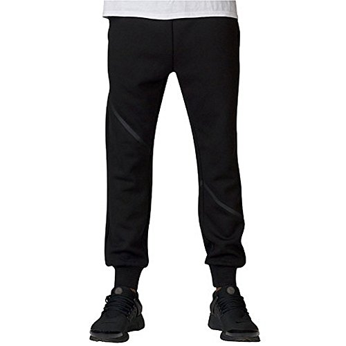Crooks and Castles Men's Knit Rocket Sweatpants Black 3XL