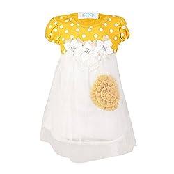 Pikaboo Princess Flora Dress - Mustard