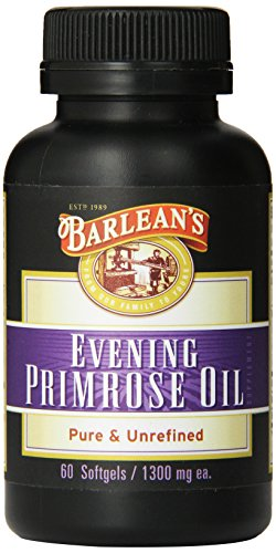 Barlean's Organic Oils Organic Evening Primrose Oil Softgels, 60-Count Bottle