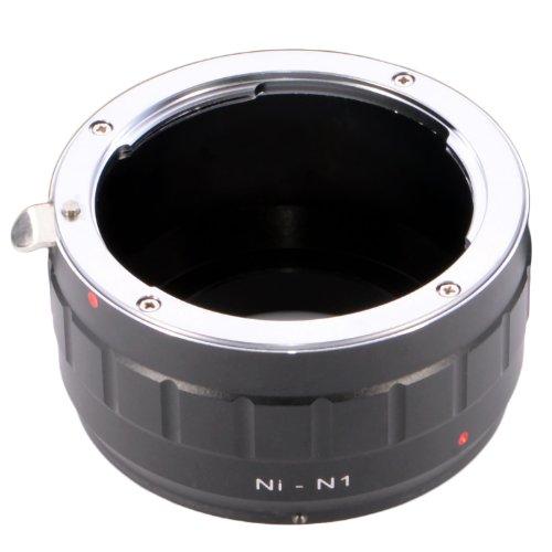 Nikon ニコン Fマウントレンズ→Nikon 1 ニコン 1(J1、J2、J3、S1、V1、V2) カメラボディ対応 レンズマウントアダプター