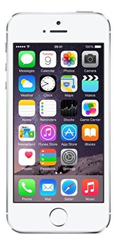 Apple iPhone 5S Argento 16GB (Ricondizionato Certificato)