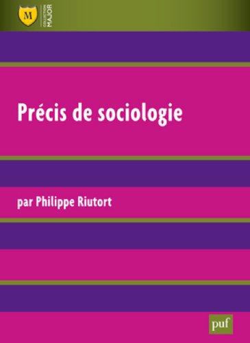 précis de sociologie (2e édition)