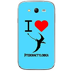 Skin4gadgets I love Pterodactyloidea Colour - Dodger Blue Phone Skin for SAMSUNG GALAXY GRAND NEO ( GT-I9060I )