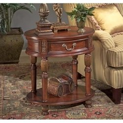 Image of Butler Specialty 1305030 Oval Accent End Table, Butler Hallmark (B0036SXUQE)
