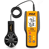 Pyle  PMA90 Digital Anemometer / Thermometer for Air Velocity, Air Flow, Temperature