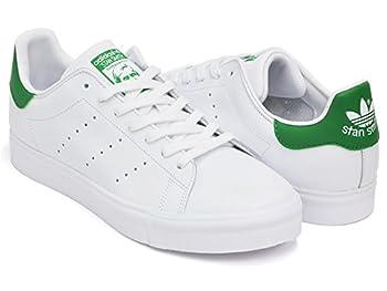 (アディダス) adidas STAN SMITH VULC [スタンスミス バルカ] FTWWHT / GREEN / FTWWHT s77450 29.0(11)US [並行輸入品]