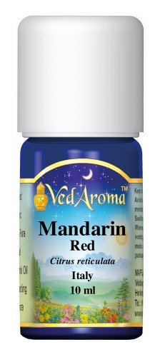 VedAroma Mandarin, red Certified Organic Therapeutic Grade Essential Oil 10 ml