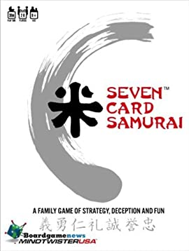 Seven Card Samurai Card Game