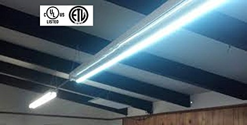 8 Foot, LED Replacement Bulb for Fluorescent Fixtures - neiLite® Brand (Flourescent Garage Lighting compare prices)