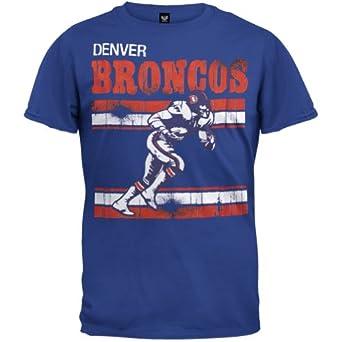 Denver Broncos - Action Crackle Soft T-Shirt by NFL