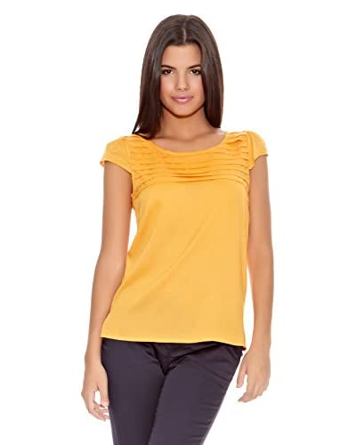 Springfield Blusa Flounces Tshirt Blou Amarillo