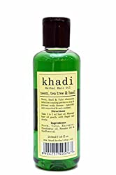Khadi Neem,Tea Tree & Basil Hair Oil