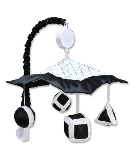 Trend Lab Mobile, Versailles, Black/White - 1