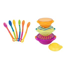 Sassy On-the-Go Snack Bowl and Spoon Set, Bowl Set