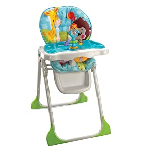 Fisher price precious planet highchair amazon co uk baby