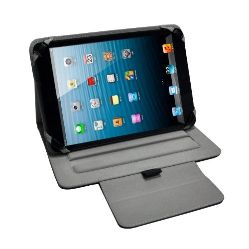 IVSO® Universal Tasche Für 8 Zoll Android Tablete PC iPad mini, Acer Iconia A1-810, Intenso TAB814 5510862, Intenso Tab 824, Odys Neo S 8 Plus, MightyPad 8 Deutsch, Odys Xpress, TrekStor SurfTab Ventos 8.0, Cat Nova, Prestigio MultiPad 8.0 Pro Duo, Blaupunkt Endeavour 800, Prestigio MultiPad 5080 PRO, Odys Neo X 8, Intenso Intab, I-onik tabletpc TP8-1200-metal, TP8-1000, TrekStor SurfTab Ventos 8.0, Blaupunkt Endeavour 800, Archos 80 Titanium Schutzhülle mit Multi-Angle-Ständer (Für 8 Zoll Andro