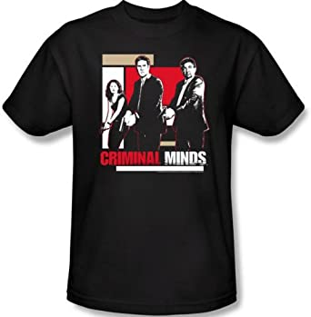 Criminal Minds Kids Size GUNS DRAWN TV Show Youth Black T-shirt, Toddler Small (4)