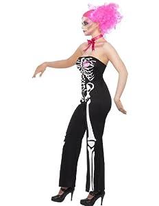 Smiffy's Adult Sassy Skeleton Costume