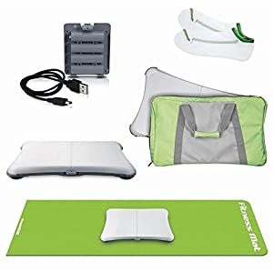 5 in1 Wii Fit Bundle for Nintendo Wii Fit (Wii Fit Board not included) - ReveWare
