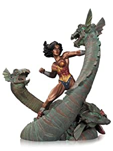 DC Collectibles Wonder Woman vs. Hydra Mini Patina Statue