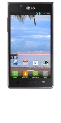 LG Optimus Showtime Android Prepaid Phone (Net10) from Lg
