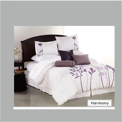 Harmony Seven Piece Comforter Set Size: King