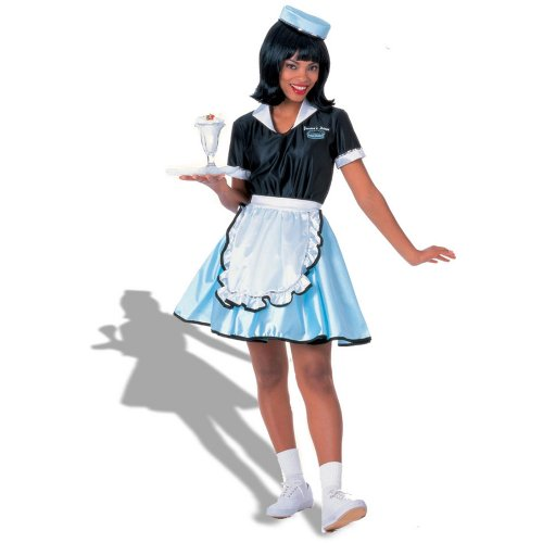 Rubies Costumes Womens Car Hop Girl Adult Costume