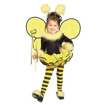 Child's Costume, Bumblebee Tutu Costume