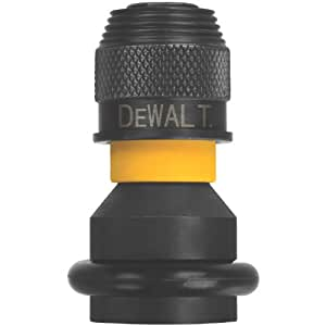 DEWALT DW2298 1/2-Inch Square to 1/4-Inch Adaptor Hex Rapid Load