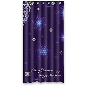Amazon Merry Christmas Custom Fashion Shower Curtain