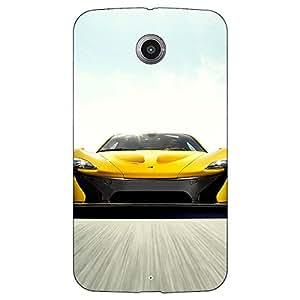 Jugaaduu Super Car Dodge Viper Back Cover Case For Google Nexus 6