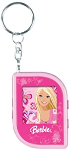 Barbie Portable Digital Photo Keychain - Pink (BAR590)