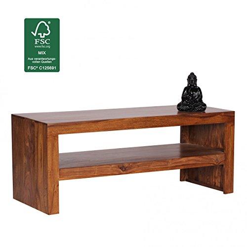 FineBuy-Couchtisch-Massiv-Holz-Sheesham-110-cm-breit-Wohnzimmer-Tisch-Design-dunkel-braun-Landhaus-Stil-Beistelltisch-Natur-Produkt-Wohnzimmermbel-Unikat-modern-Massivholzmbel-Echtholz-rechteckig
