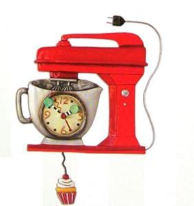 Allen Design Studios Vintage Mixer Red Mixer Kitchen