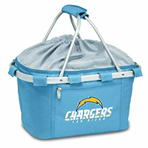 NFL San Diego Chargers Metro Insulated Basket, Blue by Picnic Time