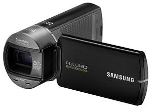 Samsung HMX-Q10 Full HD Camcorder (10-fach opt. Zoom, 6,85 cm (2.7 Zoll) Display, Touchscreen, bildstabilisiert) schwarz