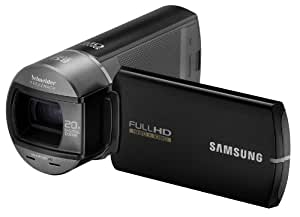 Samsung Q10 Caméscope numérique Full HD 5 Mpix Zoom optique 10 x Noir